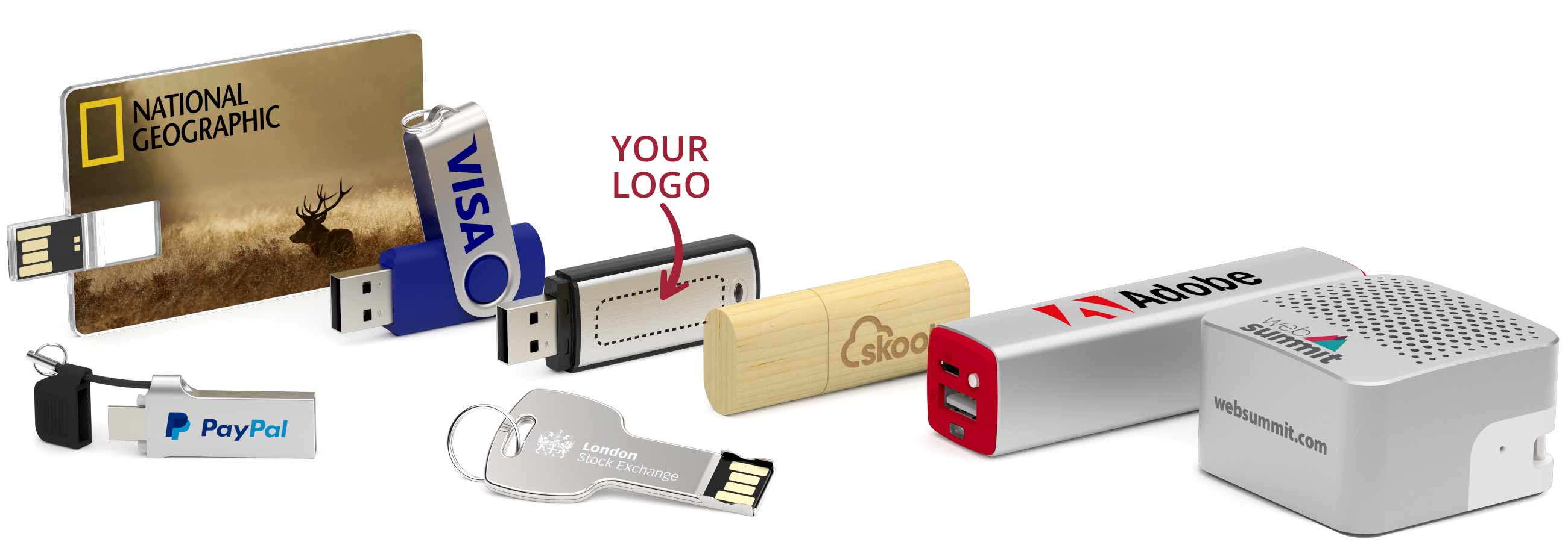 flash drives branded