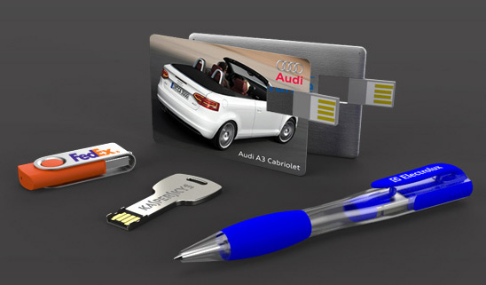 Popular models of customised usb flash drives