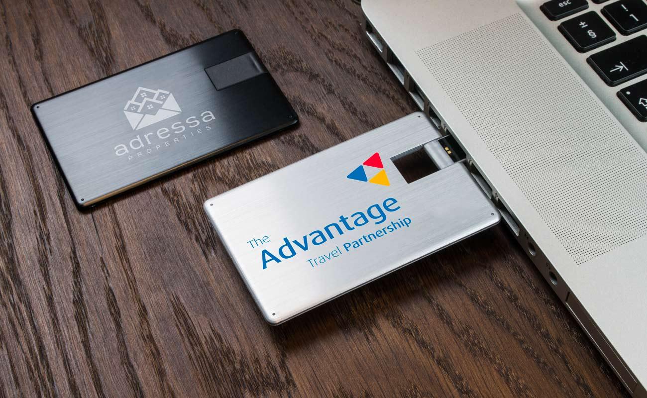 Alloy USB Card, Alloy USB Credit Card