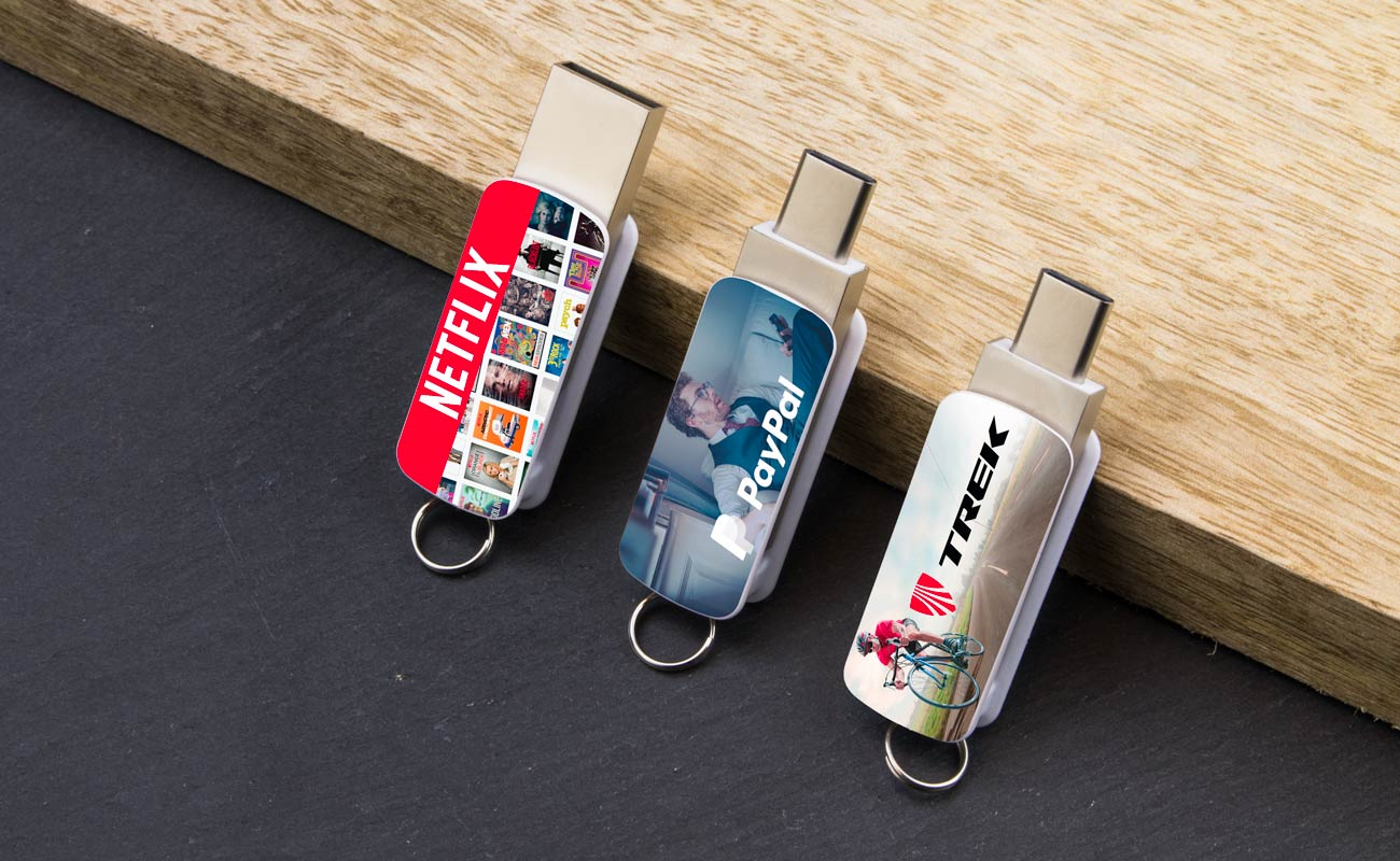 Orbit - Personalised USB