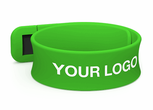 Slap - Branded USB Wristbands